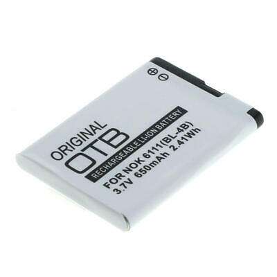 Akku f. Nokia 2760 650mAh Li-Ionen (BL-4B)