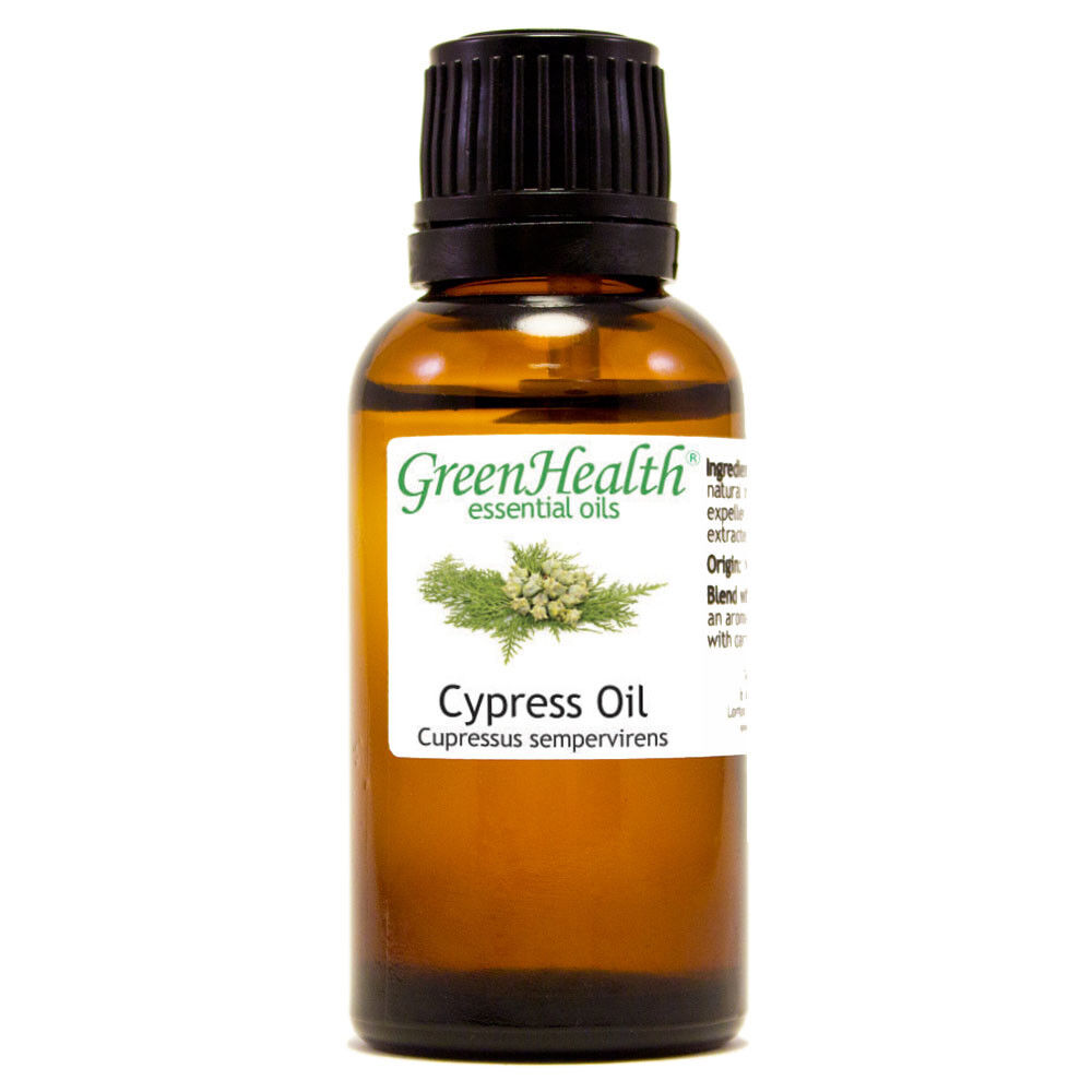 Essential Oils 30 mL (1 oz) - Pure & All Natural - Aromatherapy Oil Cypress