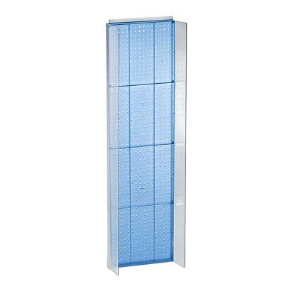 New Retails Blue Pegboard Powerwing Display 16.75w X 60high