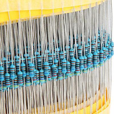Mixed 600pcs Component Resistance Pack 1 14w Metal Film Resistor 10 1m Ohm