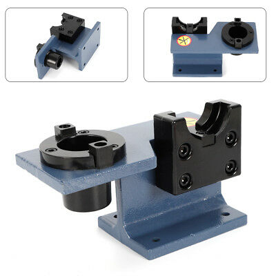 Lathe Tool Aluminum Cnc Tool Holder Tightening Vise Mounting Fixture Set Cat 40