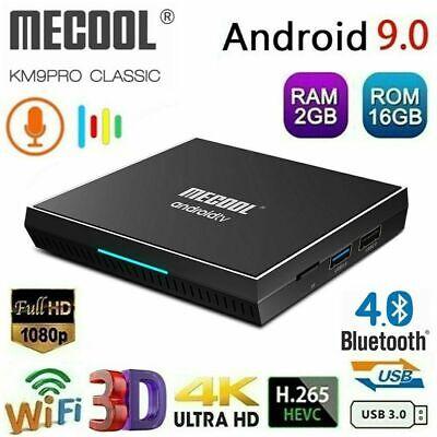 MECOOL KM9PRO CLASSIC Smart Android 9.0 TV Box 2GB / 16GB 4K S905X2 Media Player