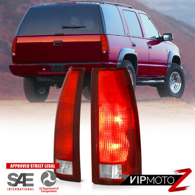 1988-1998 Silverado Sierra C1500 C2500 C3500 K1500 K2500 K3500 Brake Tail Lights