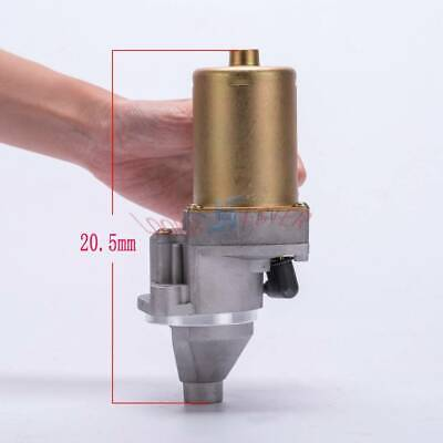 New Qdj112 For 12v2 Gasoline Generator Electric Start Modification Starter Motor