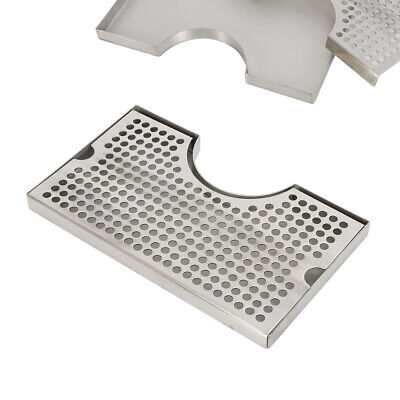 Stainless Steeleer Drip Tray Surface Mount No Drain Tap Draft Beer Kegerator Usa