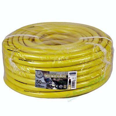 Tricoflex Wasserschlauch Tricoflex 1//2 Zoll 25 m Rolle gelb