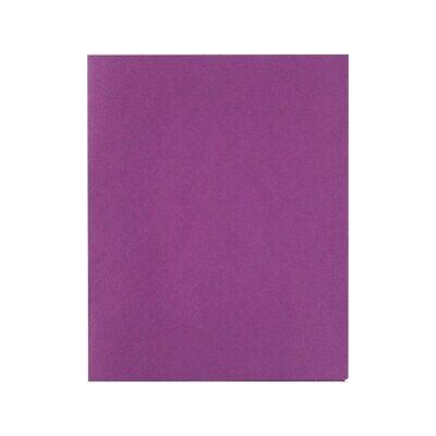 Staples School Grade 2 Pocket Folder Purple 25box 578541