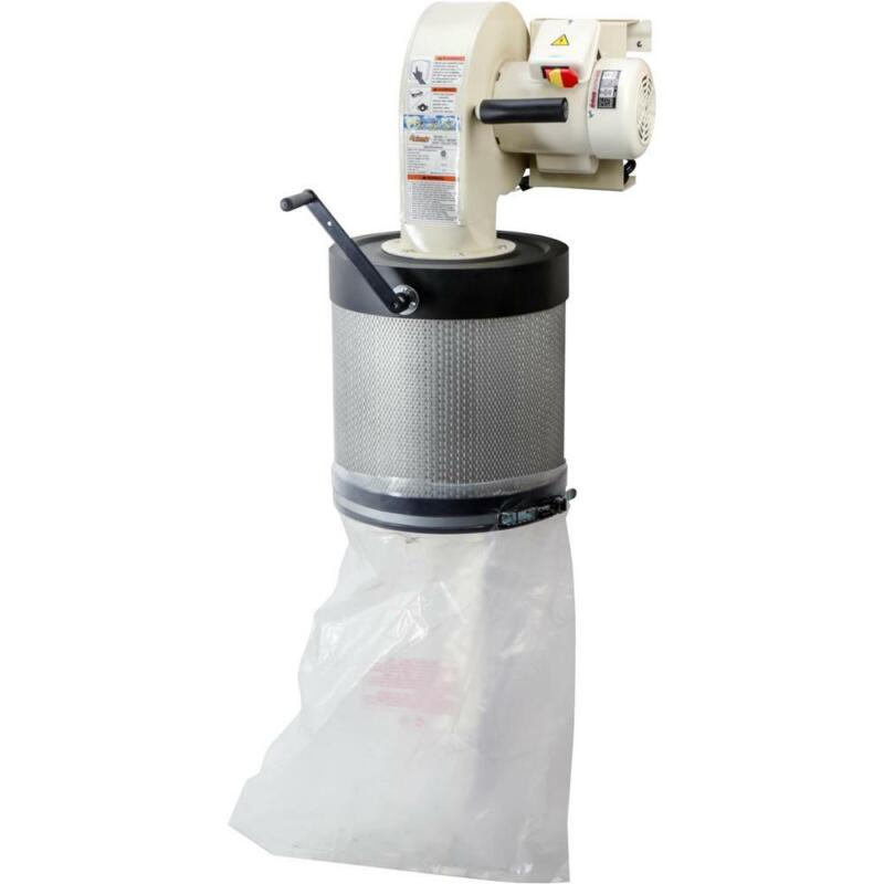 Grizzly G0785 1 HP Wall-Mount Dust Collector with Canister Filter