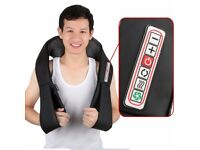 BRAN NEW Neck and Back Massager With 8 Massage Nodes For Home, Office and Car