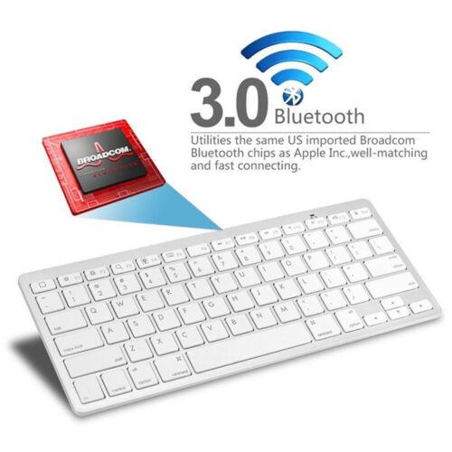US Wireless Keyboard Keypad For iPad 2 3 4 Mini Air Pro iPad