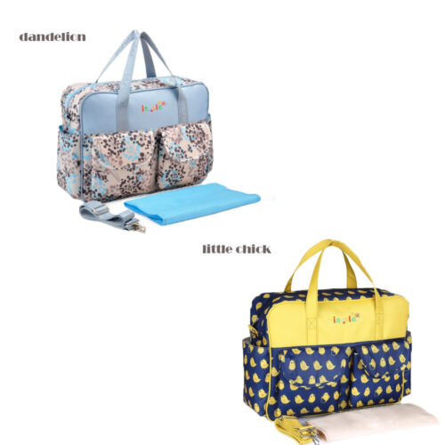 Fashion Mommy Bag Diaper bag Handle Travel Baby Bag/Diaper Tote w/Changing Pad