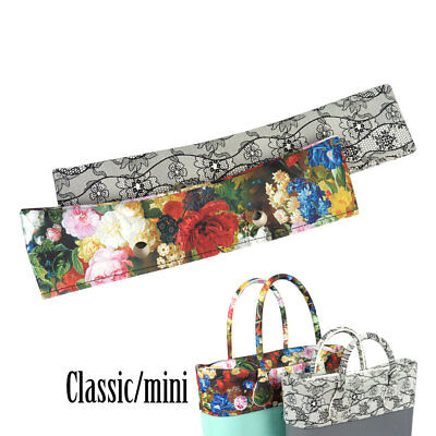 New Classic Mini Floral PU Trim Thin Decoration for Obag Handbag O Bag Body - Mini Trim Thins