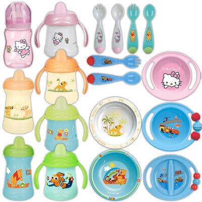 Rotho Disney Kindergeschirr Kinderteller Kinder Besteck Becher Teller Schale NEU