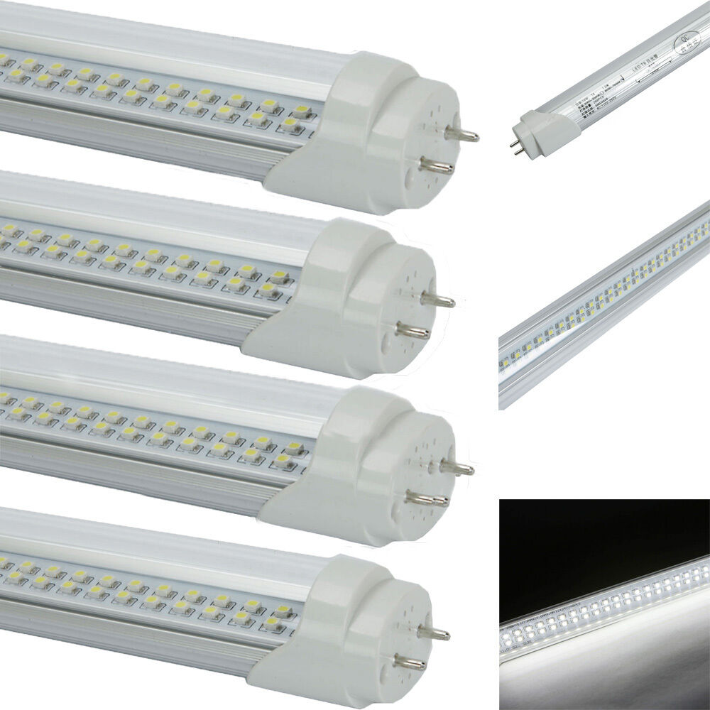 4pcs g13 t8 4ft 18w lamp led tubes fluorescent replacement light bulbs. Black Bedroom Furniture Sets. Home Design Ideas