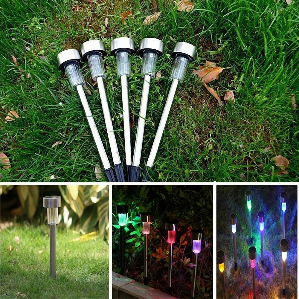color changing outdoor garden led solar power landscape ligh