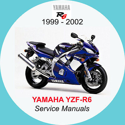 YAMAHA YZF-R6 1999-2002 FULL SERVICE MANUAL A1