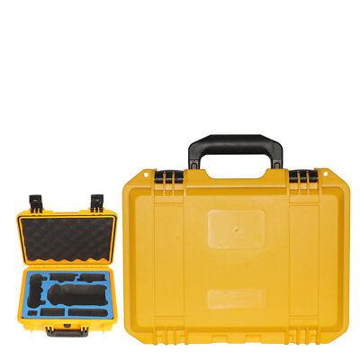 New For DJI Mavic Pro Drone ABS Handbag Carrying Case EVA Foam Waterproof Yellow