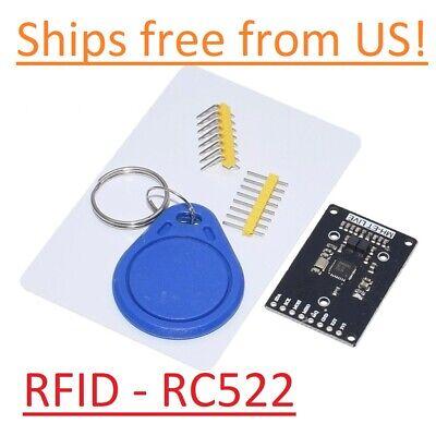 Rfid-rc522 Rf Ic Card Sensor Arduino Module With 2 Tags Mfrc522 Dc 3.3v Usa