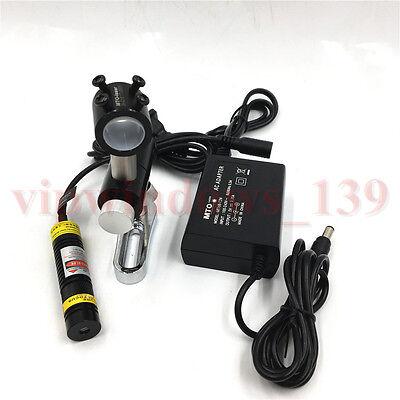 5v Red Dot Spot Laser Module 200mw Acdc Power Supplybracket Kit For Printing