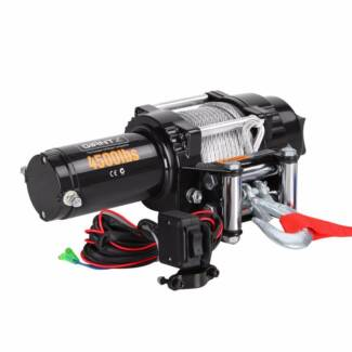 Electric Winch 4500lbs Steel Cable Water/Mud Proof