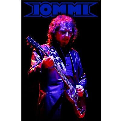 Tony Iommi Black Sabbath Textile Poster Flag