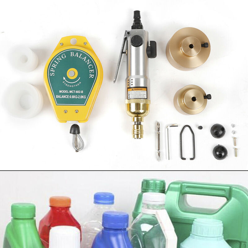Handheld Pneumatic Capper Plastic Bottle Sealing Capping Sealer Machine Tool