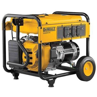 Dewalt 7000 Watt Commercial Generator Dxgnr7000 7000w Electric Start Portable
