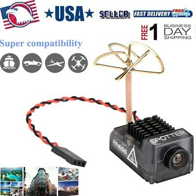 Spotter V2 5.8G FPV AIO Camera OSD Mic FOV 170° 700TVL 40CH Video Transmitter