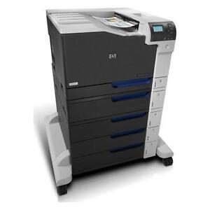 HP Printer Color LaserJet CP5525xh Printer 11 x 17