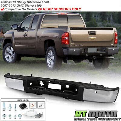 2007-2013 Chevy silverado/GMC Sierrsa 1500 Pickup w/Sensor Holes Rear Bumper Set