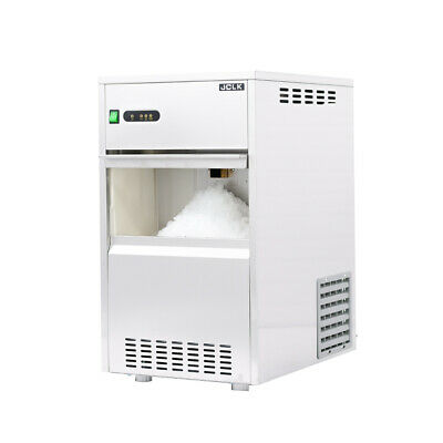 16 In. Air Cooled Commercial Stainless Steel Flake Ice Maker 88lb.