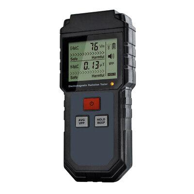 Electromagnetic Radiation Detector Digital Meter Dosimeter Test Counter Geiger Q