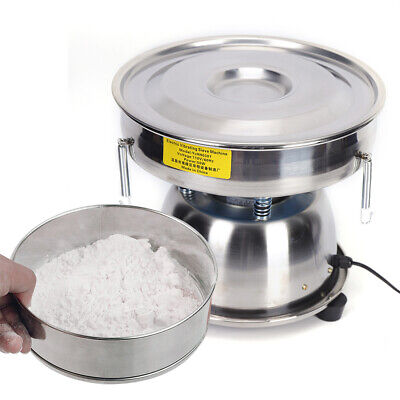 Electric Mechanical Sieve Vibrating Sieve Machine Powder Shaker 50 And 80 Mesh