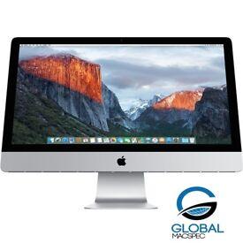 Apple iMac **Slim iMac** 27 inch i5 Quadcore 3.4 Ghz 8gb Ram 1TB HD Logic9 Adobe FinalCutProX