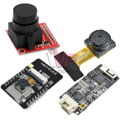 Ov2640 2.0mp Mini Esp32-cam Camera Module 3.3v Diyusb Type-c Board For Arduino