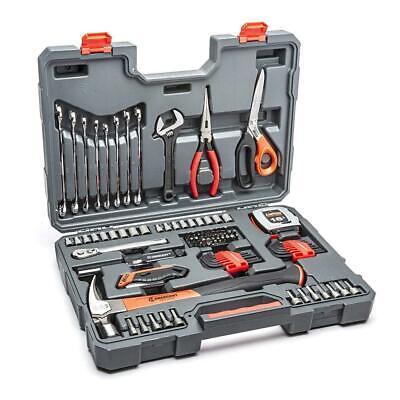 Crescent 101 Piece General Purpose Tool Set, SAE & Metric - CTK101   101 Piece Tool Set