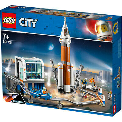 Lego City Deep Space Rocket and Launch Control Building Set - 60228