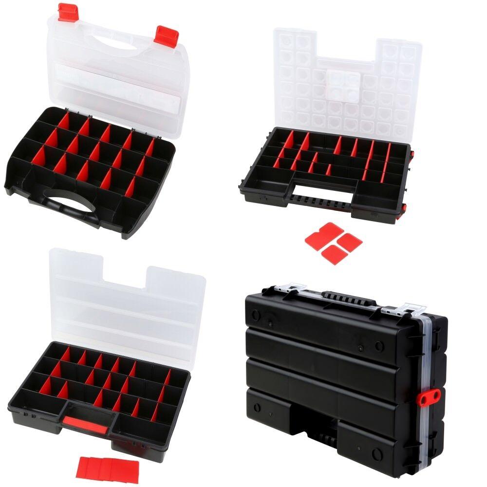 Sortimentskasten Organizer Kleinteilemagazin Schraubenbox Werkzeugkasten