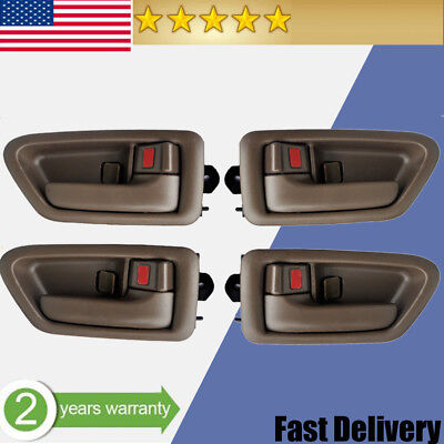 Car Door Handle for 1997-2001 Toyota Camry Inside  Left & Right Set  of 4