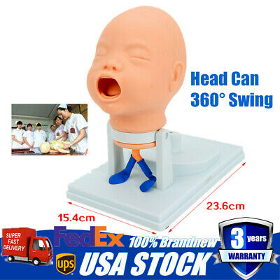 360 Swing Intubation Manikin Study Teaching Model Airway Management Trainer
