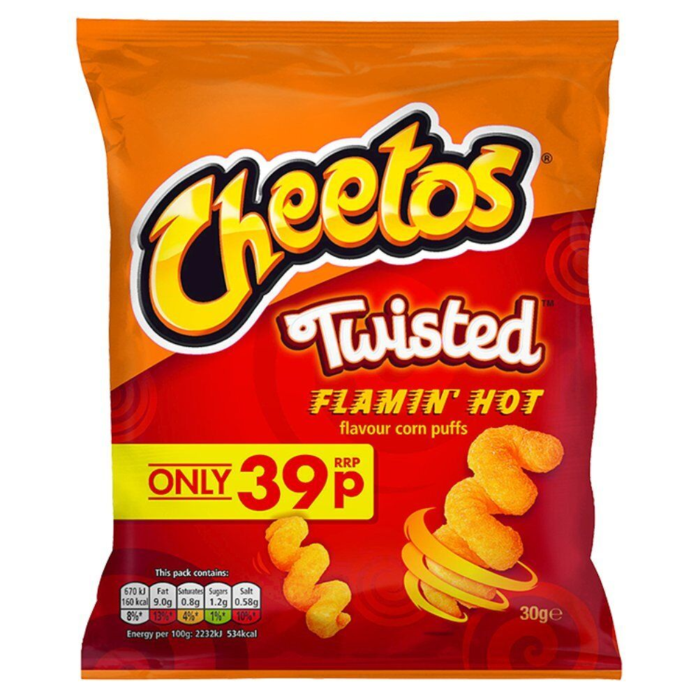 cheetos energy