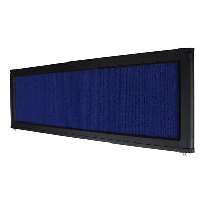 Panel Display Header Tabletop Board Tradeshow Aluminum Frame Flannelette Blue