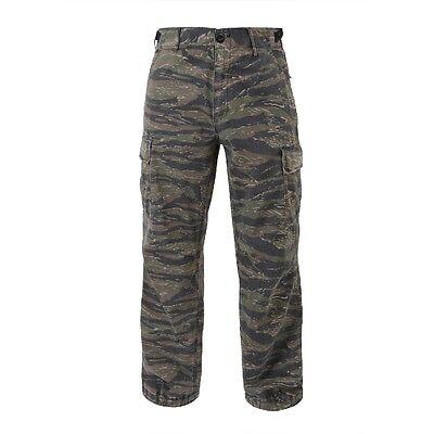 (Rothco 4487 Tiger Stripe Camo Vintage Vietnam Fatigue Rip-Stop Pants)