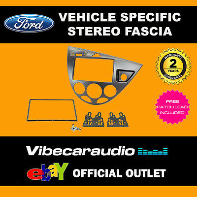 Ford Focus MK1 1999-05 Car Stereo Double DIN Facia Fascia Plate & Keys CT23FD35