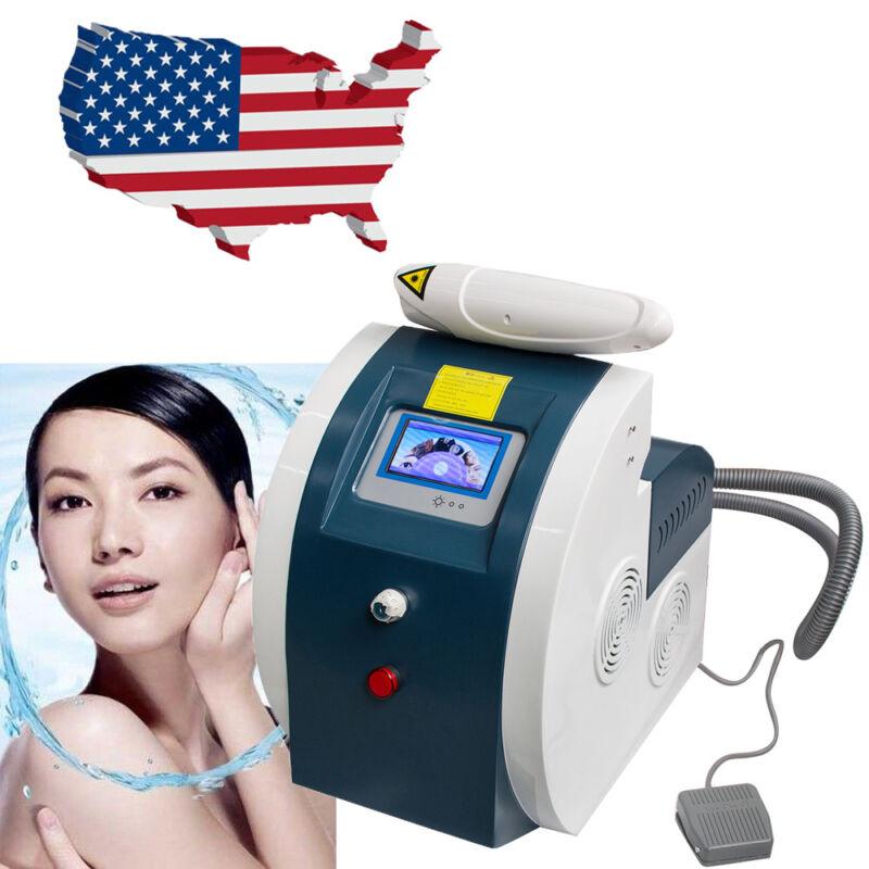 Q Switched ND YAG Laser Tattoo Removal Flecks Eyebrow Pigment Machine USA STOCK