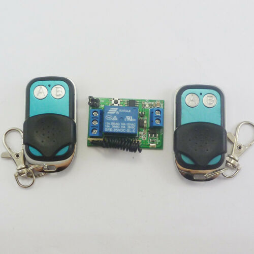 DC 5v Relay Wireless Remote Control RF Switch  + Delay Time Timer Alarm System