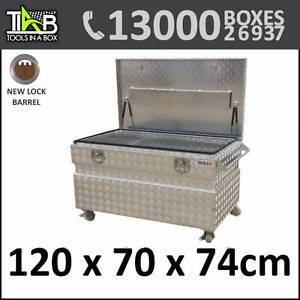 Toolbox Tool Box of Aluminium-truckCasterWheelsUte Trailer Sydney City Inner Sydney Preview