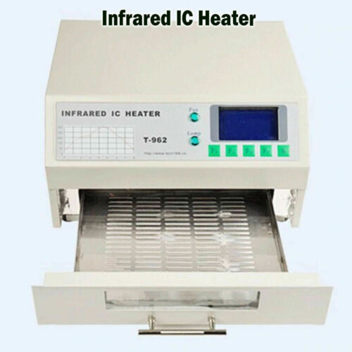 Puhui T962 INFRARED reflow oven solder IC HEATER rework station T-962