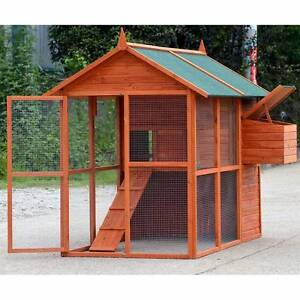X-LARGE Chicken Coop , Rabbit Guinea Pig Hutch Ferret Chook House Mordialloc Kingston Area Preview