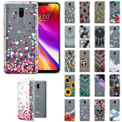 For LG G7 ThinQ G710 6.1 inch Slim Design TPU Clear Silicone Gel Skin Case Cover ()